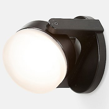 Shown in Black finish with Dome lens