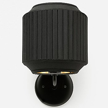 Shown in Black with Gold finish