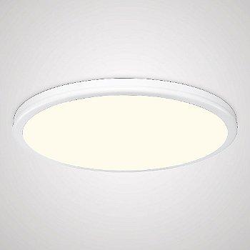 Shown lit in White finish, 15 inch