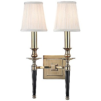 Shown in Aged Brass with Black Lacquer Handle finish