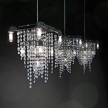 illuminated, in use