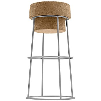 Satin Aluminum finish / Bar Stool