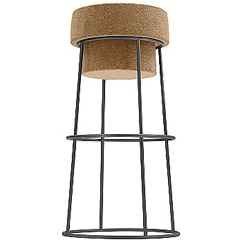 Graphite finish / Bar Stool