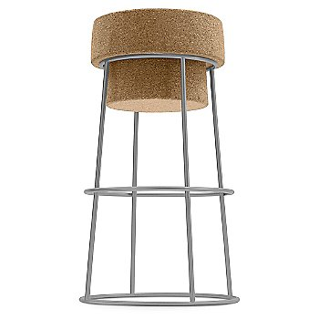 Satin Aluminum finish / Counter Stool