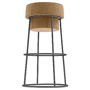 Anthracite finish / Bar Stool