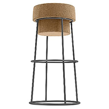 Anthracite finish / Counter Stool