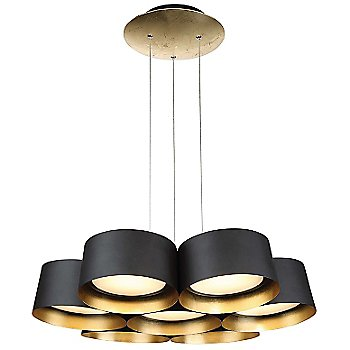 Shown in Dark Bronze with Gold Leaf finish, 24-Inch