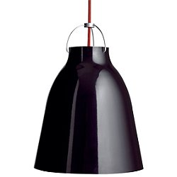 Caravaggio Pendant Light (Gloss Black/Small) - OPEN BOX