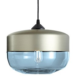 Parallel Wide Cylinder Pendant Light