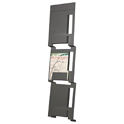 2d:3d Wall Mount Magazine Rack